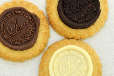 Le sceaux de chocolat de Laura