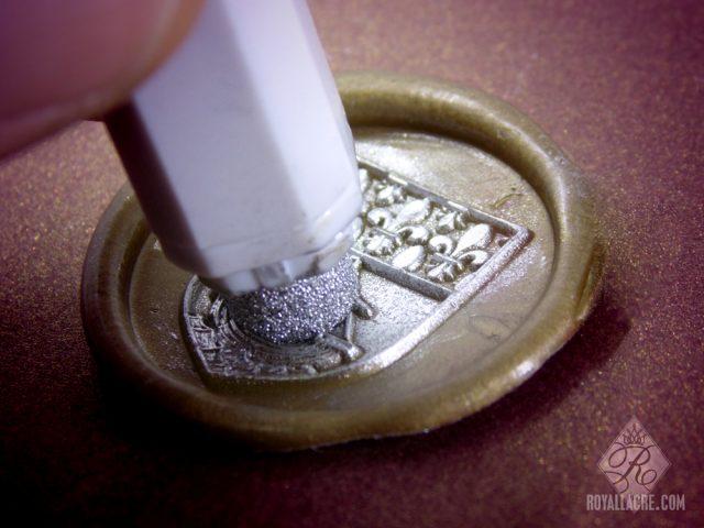 de nouveaux tampons pour peindre des cires cacheter royal sceaux. Black Bedroom Furniture Sets. Home Design Ideas